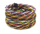 Fair Trade Wax Mixed Cotton Cord Thai Wristband Classic Handcrafted Wristwear