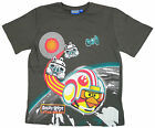 Boy's Official Angry Birds Star Wars Cotton T-Shirt Top Grey 8 to 15 Years NEW