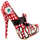 IRON FIST LOOKY LOU PLATFORM RED (R25C)
