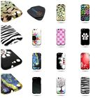 For BLU Life One - Brand New Hard Snap On Rubber Design Phone Cover Case