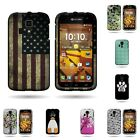 For Kyocera Hydro Icon - Highest Quality Hard Plastic Snap On Design Case