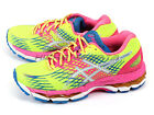 Asics GEL-Nimbus 17 Flash Yellow/White/Flash Pink Expert Running 2015 T557N-0701
