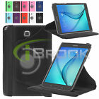 PU Leather Smart Folio Case Cover for Samsung Galaxy Tab A T350 8.0 T550 9.7 New