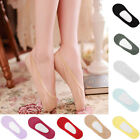 Summer Women's Antiskid Invisible Liner No Show Cotton Blend Peds Low Cut Socks