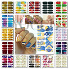 3D Nails Art Stickers Water Transfer Galaxy Decals DIY Decoration Wraps Tips