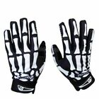 Внешний вид - Biker Skeleton Bone Gloves Racing Cycling Motorcycle Mechanics Goth Full Finger
