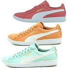NEW PUMA VIKKY LADIES GIRLS SUMMER DECK LACE UP CANVAS TRAINERS RRP £49.99