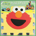 Sesame Street Big Like Me Or Make a Face Floor Puzzle