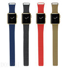 Pop Leather Loop Type Watchband Strap Magnetic Buckle For Apple Watch 38mm/42mm