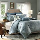 Harbor House Belcourt Blue Paisley Comforter Set
