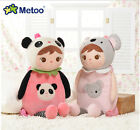New metoo cute Jibao girl koala panda plush schoolbag backpack birthday gift 1pc