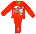 Boy's Official Liverpool LFC Mighty Reds Toddler Pyjamas 12 Months - 4 Years NEW