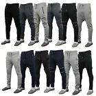 Mens Bottoms Genetic Apparel Sweatshirt Skinny Drop Crotch Hooded Joggers Cuffed