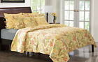 Greenland Home Fashions Sunset Paisley Quilt Set