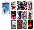 Hard Case Silikon TPU Smart Phone Wallet Back Cover with Design Pictures Etui