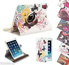 360 Degree Rotating Leather Stand Case for Apple iPad 2 3 4, Air & Mini