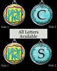 "Letters Initials Pray Blues Necklace 1"" Silver Pewter Handcrafted Charm Pendant"
