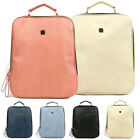 New Fashion Womens Faux Leather Travel bags Satchel Backpack School Bag Rucksack