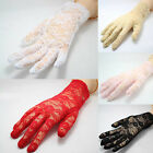 Chic Women's Sexy Fashionable Black Wedding & Driving & Evening Lace Gloves
