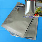 100×Silver Aluminum Foil Mylar Bag Vacuum Sealer Package Shipping Safety Food