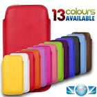 SOFT LEATHER PULL UP CASE COVER SOCK POUCH SLEEVE FOR APPLE IPHONE 4 4S