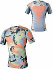 Men's Compression Fitness Gym Camouflage Tops Base Layer Short Sleeve T-Shirts
