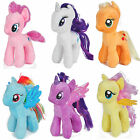 """New My Little Pony Horse 7"""" Figures Stuffed Plush Soft Teddy Doll Toy Gifts"""