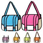 Jeansian 3D Stereo Personality Bag Cartoon Package Backpack Shoulder Bag WBH002