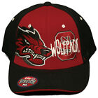 NEW!!  NC State Wolfpack  Stretch Fitted Cap/Embroidered Hat -One Size M/L