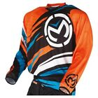 Moose Racing 2015 ADULT MX ATV Jersey M1 Blk/Blu/Org S-3XL