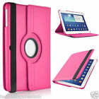 360 Leather Rotate Folio Case For Samsung Galaxy Tab 2 3 4 Tab S note 10 8 7