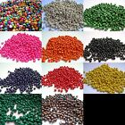 Qty 500 - 4mm x 3mm Round Wooden Beads - Multi Colour Listing