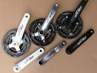 Suntour CHAINSET Alloy Arm 22/32/42 Crank set NEW Bike Cycle MTB Black White