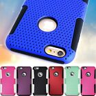 Hard Mesh Design Protective Hybrid Phone Cover Case for iPhone 6s Plus / 6 Plus