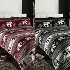 Elephants Indian Ethnic Reversible Single Duvet Quilt Cover Bedding Set