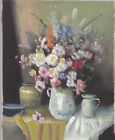 VASE OF FLOWERS 2 30 TO CHOOSE FROM ART OIL PAINTING OR CANVAS PRINTS 8x10""