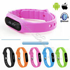 Waterproof Bluetooth 4.0 Sport Wristband Smart Bracelet Watch Android IOS iPhone
