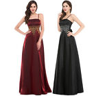 New SEXY Womens Formal Long Cocktail Bridesmaid Gown Wedding Prom Evening Dress