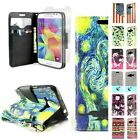 For Samsung Galaxy Prevail LTE / Core Prime Wallet Phone Cover Case and Screen
