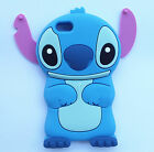 Cute 3D Lovely Cartoon Stitch Soft Silicone Cover Case Skin For Mobile Phones 2