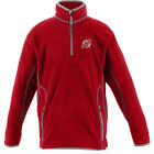Antigua Youth New Jersey Devils Ice Long Sleeve Pullover   Silver