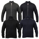 Mens Wool Mix Cardigan Tokyo Laundry Jacket Knitted Top Funnel Neck Winter New