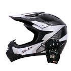 LEO-X18 Child Kids Junior Motorbike Motocross MX Helmet Monster & Goggle &Gloves
