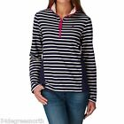 Joules Fairdale Ladies Sweatshirt (T) Colour Navy Strip Size 10 12 14 16 18 20