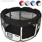 Foldable Polyester Animal Playpen Pet Dog Cat Puppy Fabric Play Pen Carry Bag