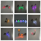 Fashion LED Light Up Bling 1Pair Ear Studs Earrings Earring For Dance Party