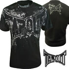 Mens Tapout Tee UFC MMA Just Another Day Cage Fighter T shirt black