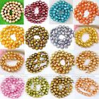 Strand 7-11mm Nugget Fresh Water Pearl Loose Beads Charm For Jewelry Making DIY