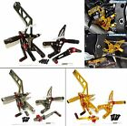CNC Adjustable Rearset Rear Sets Footrests Foot Pegs For 2015-2016 YAMAHA YZF R1