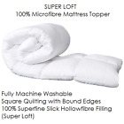 Luxury Microfibre Quilted Waterproof Extra Deep Fully Fitted Mattress Protector